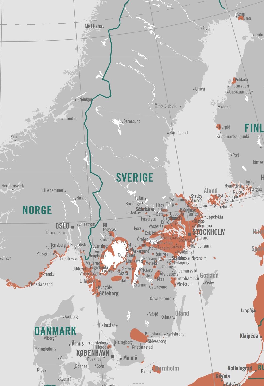 Karta Skane Och Danmark.Vaccination Mot Tbe Fasting Nu